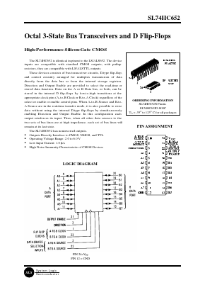 SL74HC652D image